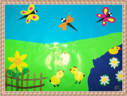 Поделки о лете в детском саду
